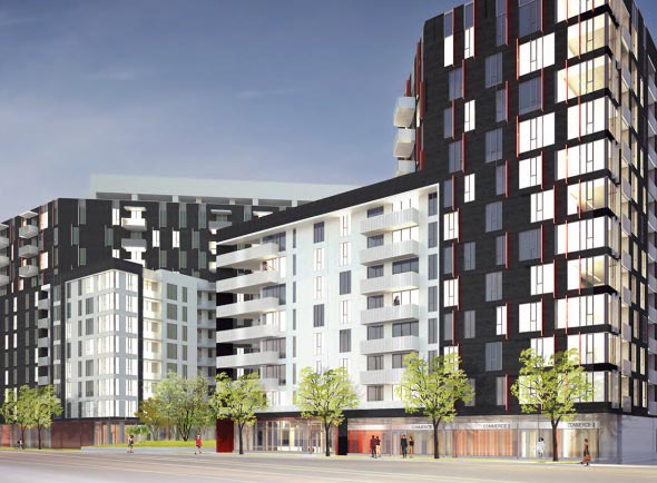 Rouge Condominiums is a 6 phases project in Montreal